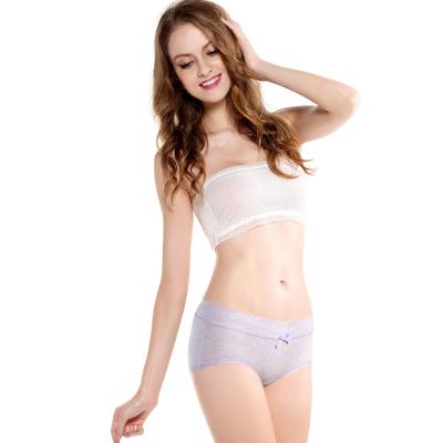 WIDECOTTON 内裤组合套装3条装青春系列中低腰少女内裤 7019