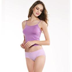 WIDECOTTON 内裤组合套装3条装青春系列中低腰少女内裤 7021
