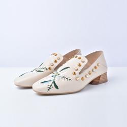 艾秀姿 方头时尚鞋 C17121-1