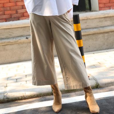 AE 阔腿休闲九分裤长裤韩版直筒裤 17203