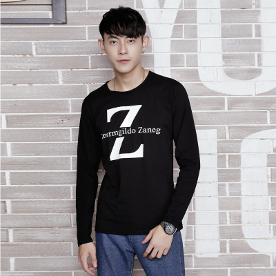达昇 2017新款时尚潮流长袖型男T恤 C112