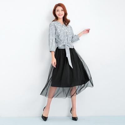 蒂瓦服饰2017年秋季新品上新时尚新款休闲上衣女104