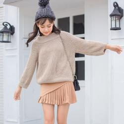 女装秋冬装2017新款潮时尚两件套圆领流苏针织毛衣套装裙#8106