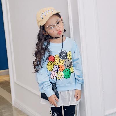 魔逗星 时尚童趣女童卫衣 M020