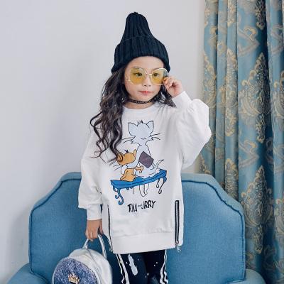 魔逗星 简约童趣女童卫衣 M021