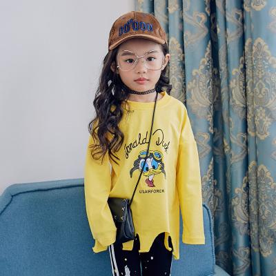 魔逗星 简约童趣女童卫衣 M040