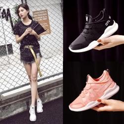 美度 2017新款时尚运动透气跑鞋 818-1
