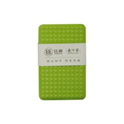 丝源 桑叶茶绿色健康 绿色盒装桑叶茶125g