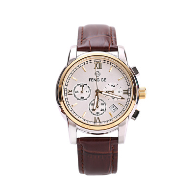 风格/FENG GE 新款手表时尚潮流简约男士手表正品防水石英表