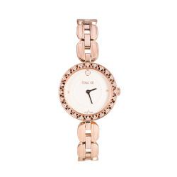 风格/FENG GE 新款优雅镶钻女士手表正品防水石英表