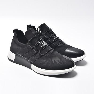 卡淇尔 皮配弹力布时尚运动鞋53312