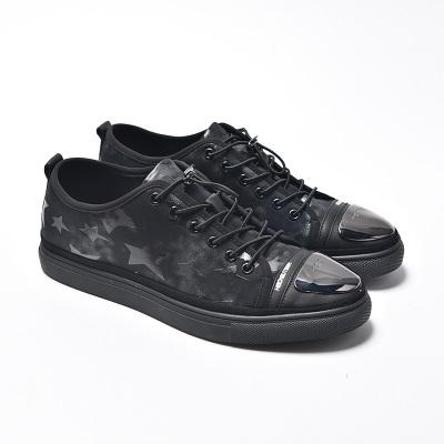 卡淇儿 皮配弹力布时尚运动鞋 5-73001