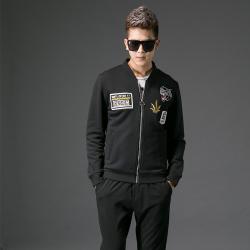 2017秋季修身型男士立领外套#XD-178116