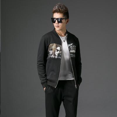 2017秋季修身型男士立领外套#XD-178117
