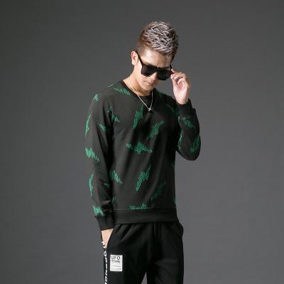 2017秋季修身型男士圆领#XD-178150