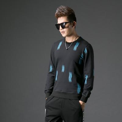 2017秋季修身型男士圆领卫衣#XD-178152