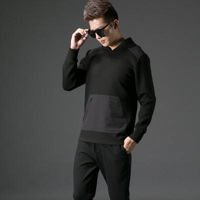 2017秋季修身型男士连帽卫衣#XD-178177