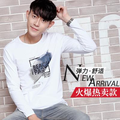 达昇 2017新款时尚潮流长袖型男T恤 C116