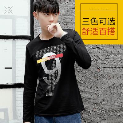 达昇 2017新款时尚潮流长袖型男T恤 C117