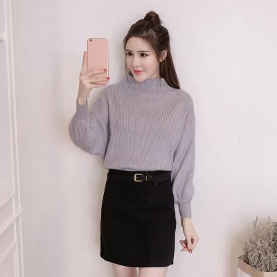 女人志 秋冬时尚两件套毛衣裙子套装8175