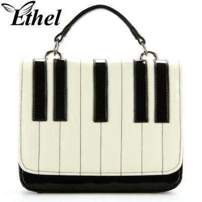 珠艺Ethel 钢琴键精巧斜跨单肩手提小包晚宴包 JY0385