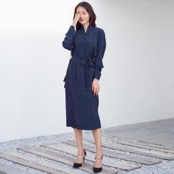 半简主义 时尚连衣裙女QS079