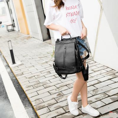 莱米皮具 新款潮流时尚女双肩包SL-1071-1