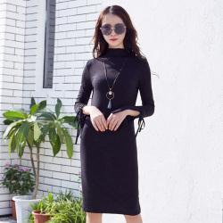 半简主义 时尚连衣裙女 QS085