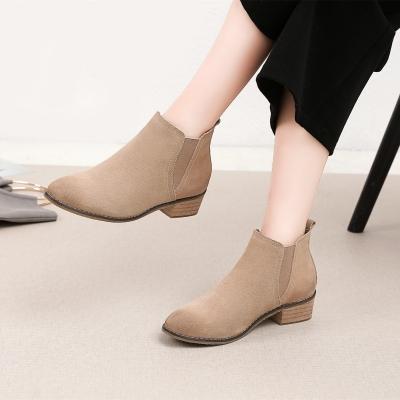 美度 2017新款时尚冬短靴子 818-6