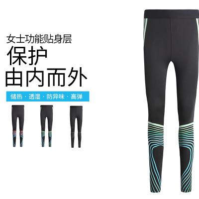 【包邮】女装健身裤2017新款仁飞运动牛奶丝健身紧身裤RC3001-19