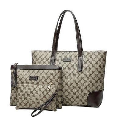 2018新款大容量三件套子母包女士手提大包包购物袋简约复古托特包