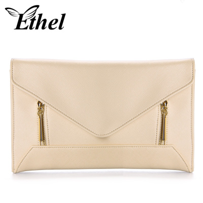 珠艺Ethel 精巧立体感几何风斜跨单肩手拿小包 JY0980