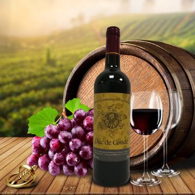 孔德公爵干红葡萄酒