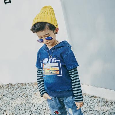 天宇 2017新款时尚男孩牛仔上衣 BS173014