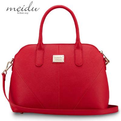 每度(MEIDU)都会系列女士牛皮贝壳包女包 单肩包斜挎手提包140713