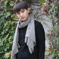 无法休闲 新款条纹围巾 15#