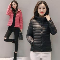 钱棠 2017冬季新款短款时尚羽绒服 1885