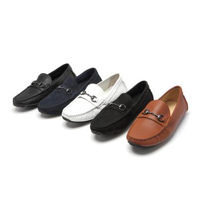 匠王鞋厂 商务休闲英伦风男士豆豆鞋 1120-6