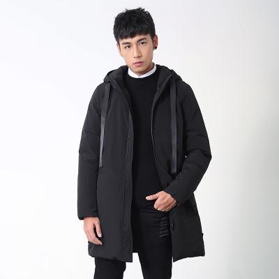 2017冬季新款男士黑色羽绒服YM-2007款