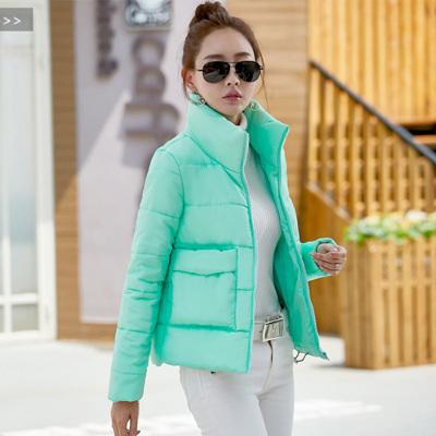萨曼世家【定制款】2017年冬装保暖修身显瘦简约大方棉衣女装 9861