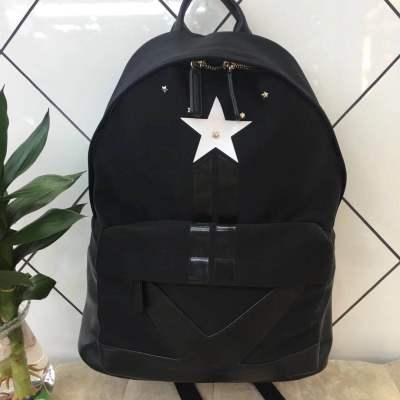 优品【O2O】时尚潮流百搭双肩包五角星