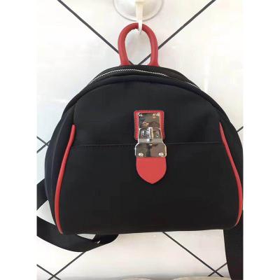 优品【O2O】时尚潮流百搭双肩包两用锁扣 7232