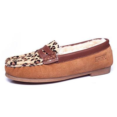 每度(MEIDU)罗瑞尔豹纹款轻便鞋8DD056N