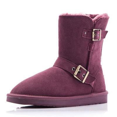 每度(MEIDU)罗瑞尔女士雪地靴L1408XX528N