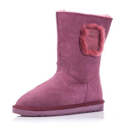 每度(MEIDU)罗瑞尔女士雪地靴L1408XX529N