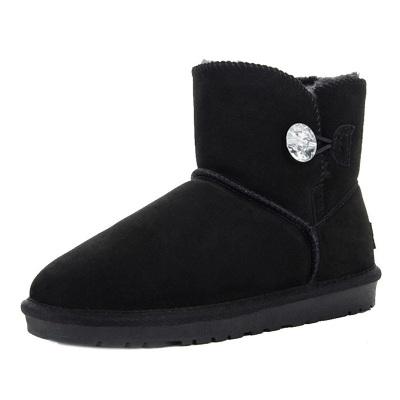 每度(MEIDU)罗瑞尔女士雪地靴L1408XX550N