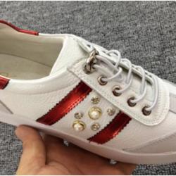 卡淇儿 新款真皮休闲女鞋小白鞋