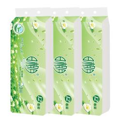 卫生纸批发厂家直销日相月家用纸巾原生木浆无芯卷纸3层36卷包邮9004