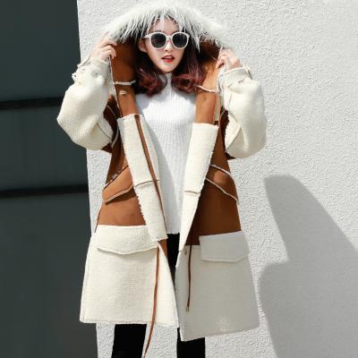 美尚铺 新款韩版羊羔毛复合款 XJ092
