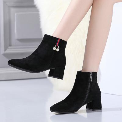 荷月诗 冬款舒适保暖羊京女靴HG174001